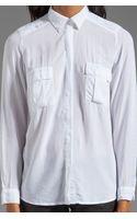 Splendid Shirting Long Sleeve Blouse in White - Lyst