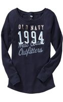Old Navy Logographic Waffleknit Tees - Lyst