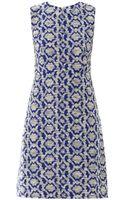 Diane Von Furstenberg Yvette Long Dress - Lyst