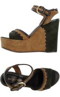Sergio Rossi Wedge - Lyst
