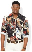 Polo Ralph Lauren Ski-print Broadcloth Shirt - Lyst