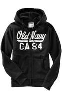 Old Navy Logo Zip Front Hoodies - Lyst