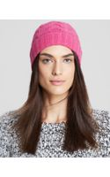 C By Bloomingdale's Cashmere Cable Knit Hat - Lyst