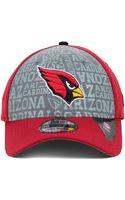 New Era Arizona Cardinals Nfl Draft 39thirty Cap - Lyst