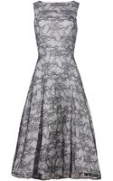Js Collections Lace Midi Dress - Lyst