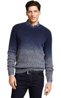 Tommy Hilfiger Ombre Crewneck Sweater - Lyst