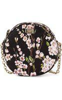 Dolce & Gabbana Floral Print Shoulder Bag - Lyst