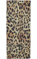 Lily and Lionel Leopard Print Constance Modalblend Scarf - Lyst