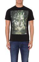 Diesel T-ebo Cotton-jersey T-shirt - Lyst