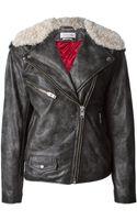 Etoile Isabel Marant Biker Jacket - Lyst