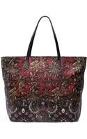 Etro Printed Nappa Leather Tote Bag - Lyst