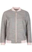Ted Baker Talitha Tweed Bomber Jacket - Lyst