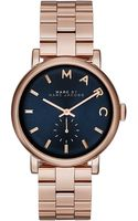 Marc By Marc Jacobs Ladies Baker Stainless Steel Bracelet Watch - Lyst