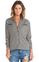 Maison Scotch Flannel Shirt - Lyst