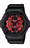 G-shock Mens Analog Digital Black Resin Strap 52x55mm Ga150mf1a - Lyst