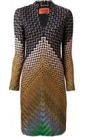 Missoni Zig Zag Crochet Knit Dress - Lyst