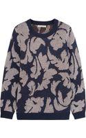 Burberry Brit Jacquardknit Sweater - Lyst