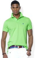 Polo Ralph Lauren Customfit Stretchmesh Polo Shirt - Lyst