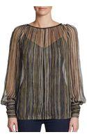 Rachel Zoe tops long sleeved tops blouses - Lyst
