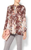 Zimmermann Tamer Drape Dress Shirt - Lyst
