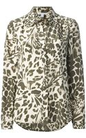 Diane Von Furstenberg Lorlei Two Shirt - Lyst