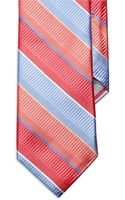 Ike By Ike Behar Silk Wide Stripe Tie - Lyst