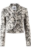 Aganovich Fauna Print Wrap Jacket - Lyst