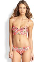 Mara Hoffman Cami Underwire Bikini Top - Lyst