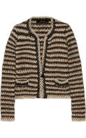 Isabel Marant Barte Striped Knitted Jacket - Lyst