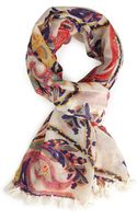 Forever 21 Paisley Print Scarf - Lyst