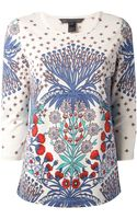 Marc By Marc Jacobs Floral Printed Top - Lyst