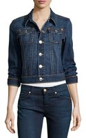 True Religion Emily Denim Jacket - Lyst