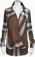 Nicholas K Ritz Shirt Plaid B Eel - Lyst