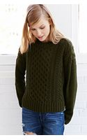 BDG Honeycomb Cable Knit Sweater - Lyst