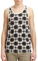 Marc By Marc Jacobs Sam Printed Tank Top - Lyst