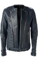 Pierre Balmain Biker Jacket - Lyst