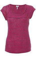 Splendid Vienna Striped T-shirt - Lyst