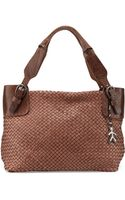 Henry Beguelin Roxanna Small Woven Tote Bag - Lyst