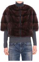 P.a.r.o.s.h. Mink Quinzio Fur Coat - Lyst