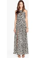 H&M Maxi Dress - Lyst