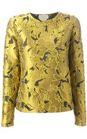 Andrea Incontri Embroidered Top - Lyst