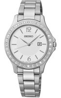 Seiko Womens Stainless Steel Bracelet Watch 31mm Sxdf97 - Lyst