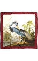 Brooks Brothers Audubon Silk Square - Lyst