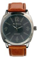Ben Sherman Brown Leather Strap Watch R867 - Lyst