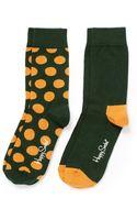 Happy Socks Twopack Socks - Lyst