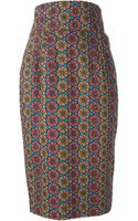 Stella Jean Printed Pencil Skirt - Lyst