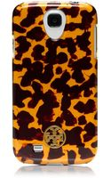 Tory Burch Tortoise Hardshell Case For Samsung Galaxy S4 - Lyst