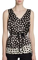 Marc By Marc Jacobs Odessa Sleeveless Printed Top - Lyst
