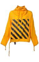 Off-white Windbreaker Jacket - Lyst