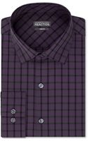 Kenneth Cole Reaction Slimfit Check Dress Shirt - Lyst